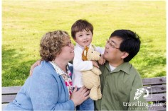 Natural lifestyle family portrait by Traveling Julie Photograph