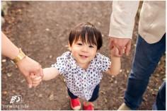 Adorable toddler smile