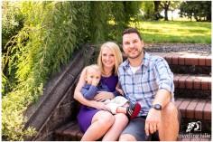 Garden garden family photography portrait