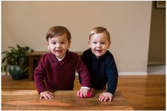 twin toddler family photography