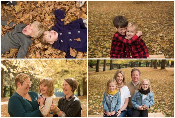Portland family photos fall mini sessions
