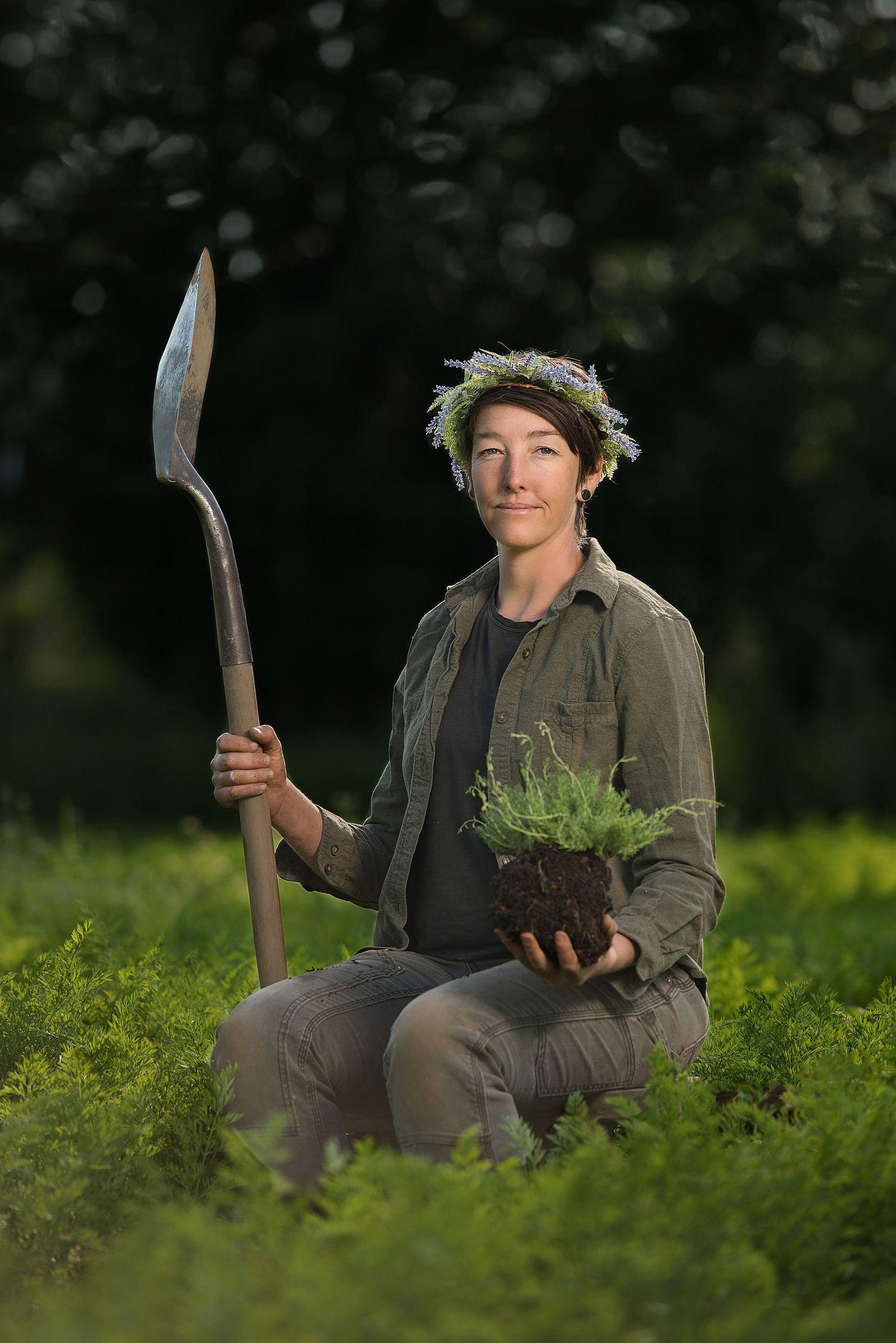 fine art portrait farmer